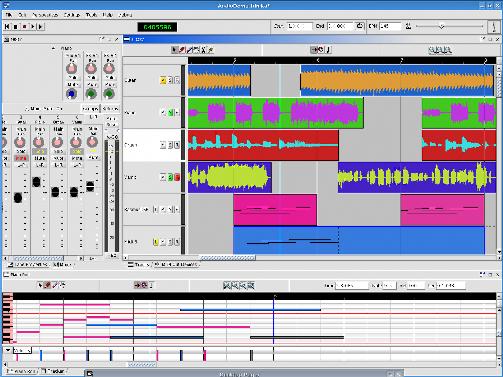 frinika Frinika, una nuova music workstation per Linux